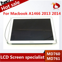 Original 98% New 13″inch for Macbook Air A1466 lcd screen assembly MD760 MD761 Laptop lcd assembly Mid-2013 2014