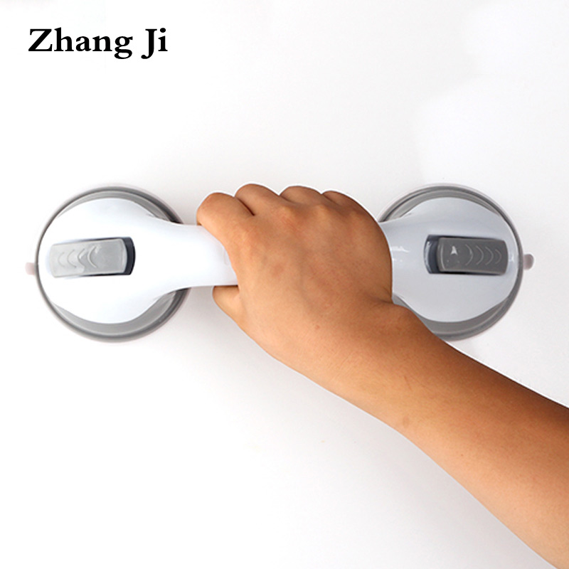 Zhang Ji Bathroom room Safety Helping Grab Bar Power-Grip suction cup handle rail Anti-Slip Shower Tub Safety Support Rail ZJ002