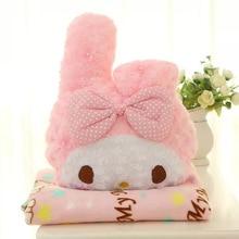 Милая Мелодия мягкая подушка, плюшевые игрушки одеяло подушка День рождения Рождественский подарок#1267