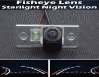 Fisheye 1080P Trajectory Tracks Car Rear view Camera For Skoda Fabia 2008 2009 2010 2011 2012 2013 Octavia RS Car Reverse Camera