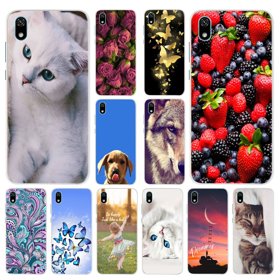 <font><b>huawey</b></font> <font><b>y5</b></font> <font><b>2019</b></font> Case on For Coque Huawei <font><b>y5</b></font> <font><b>2019</b></font> Case Cover Soft TPU Silicone For Huawei <font><b>y5</b></font> <font><b>2019</b></font> phone Fundas Capa carcasa image