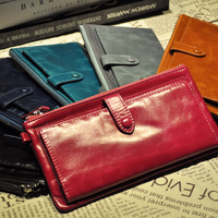 Luxury Genuine Leather Purse Women S Clutch Wallets Handy Business Carteras Mujer Wallets Women Dollar Price