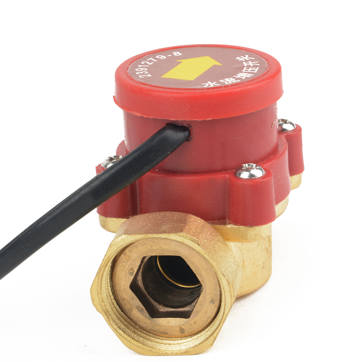 1Pc 120W Water Flow Switch 120W AC220V Water Flow Sensor Male Thread Connector Circulation Pump
