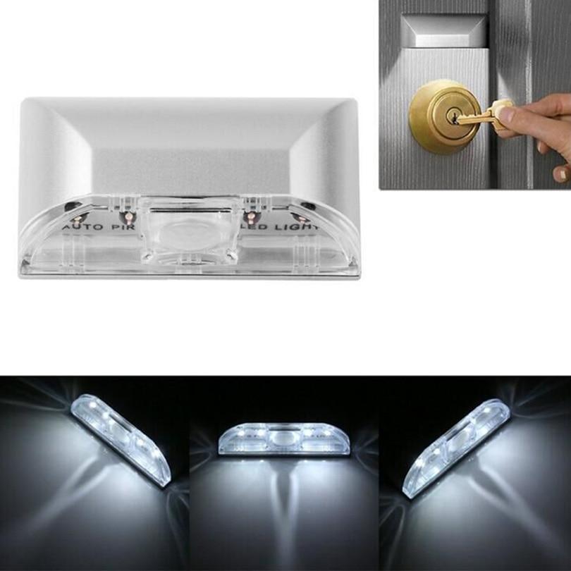 Led Lamps Beautiful 12smd Led Portable Usb Rechargeable Pir Motion Induction Sensor Smart Led Night Light Lamp Closet Cabinet Light Toilet Lamp