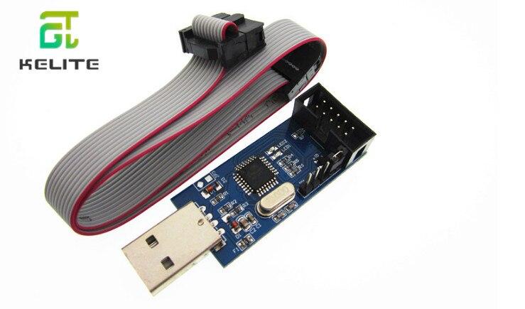 HAILANGNIAO 1pcs New USBASP USBISP AVR Programmer USB ISP USB ASP ATMEGA8 ATMEGA128 Support Win7 64K