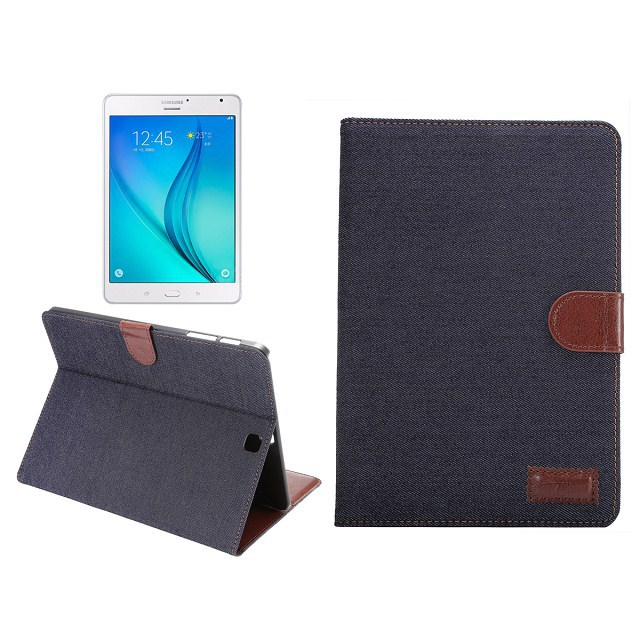 Hot Selling high quality denim Wallet card slot case Cover for Samsung Galaxy Tab S2 9.7 SM-T810 T813 T815 T819 PU leather case