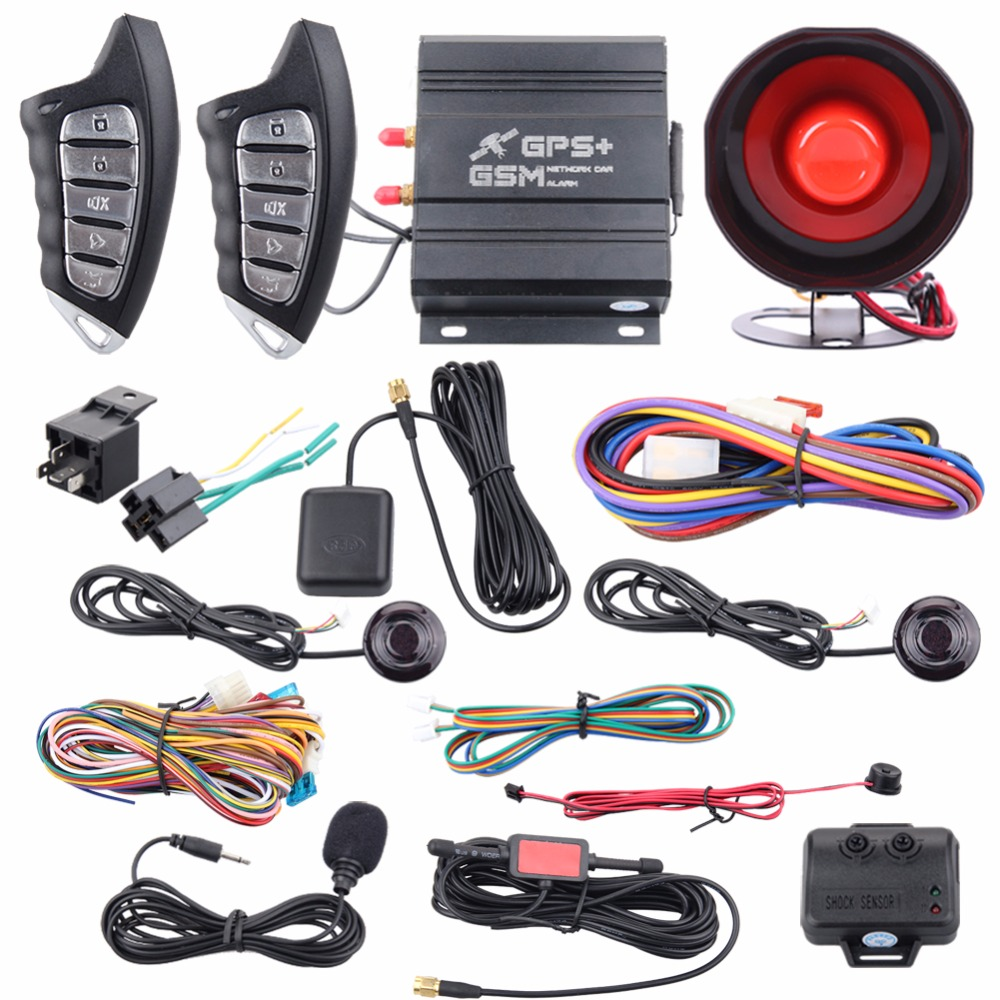 Aliexpress Com Buy Original Spy Gsm Car Alarm System Gps Tracking Remote Engine Start Smartphone Operation Bluetooth Connection For Android System From