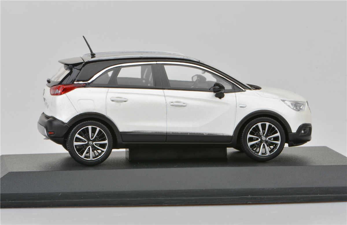 Pression Usine Livraison 1 Jouet Pour Sous Cadeau Opel X Voiture 43 Alliage Enfants Original D'anniversaire Jouets Modèle Moulé Crossland YED2WIH9