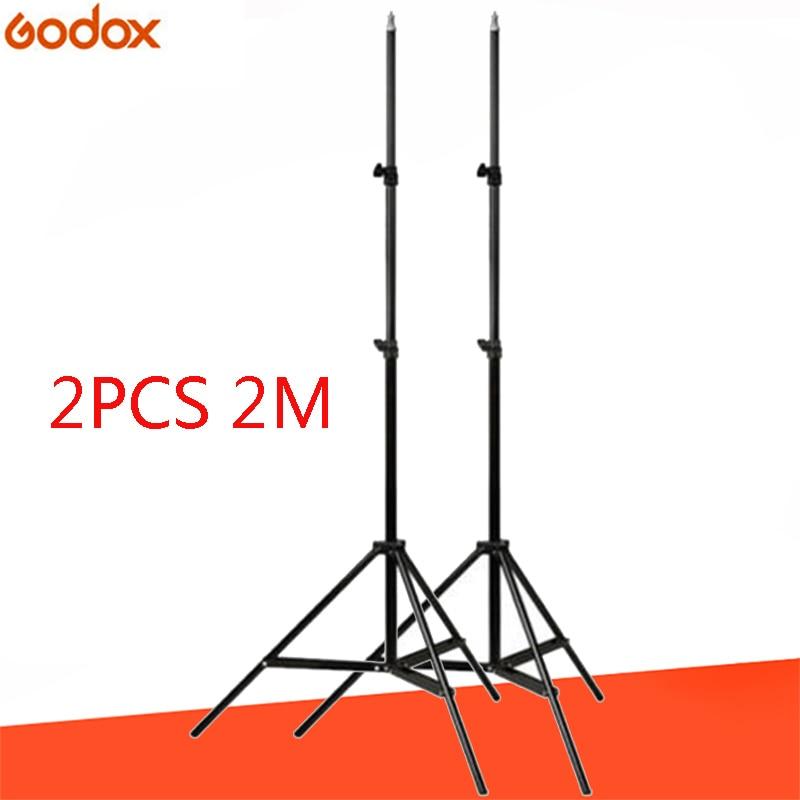 Godox 2 pieces SN302 190cm 6ft Photography Studio Lighting Photo Light Stand Tripod For Flash Strobe