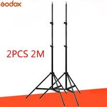 Godox 2 חתיכות SN302 190cm 6ft צילום סטודיו תאורת צילום אור לעמוד חצובה עבור פלאש Strobe אור רציף