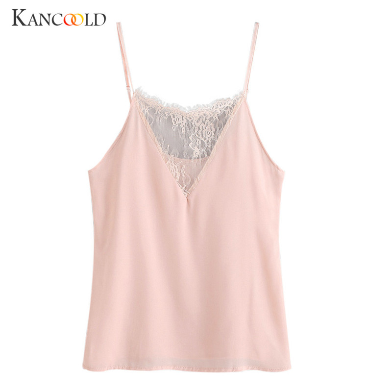 Tees crop top vest Tank tops summer t-shirt female crop Cami Top girls lace cropped Sleeveless Blouse Camis tanks camisole JN5A