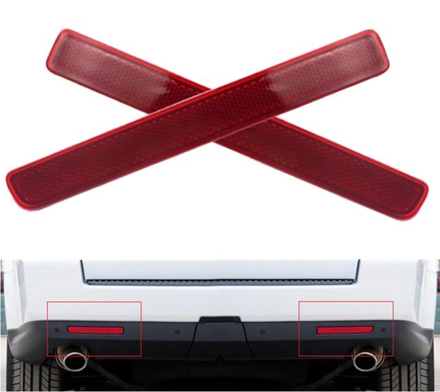 1 Pair 24 LED Rear Bumper Reflector Parking Brake Running Turning ...