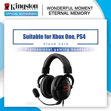 KINGSTON auriculares para videojuegos HyperX Cloud Core, auriculares originales para ordenador, teléfono, tableta, con micrófono