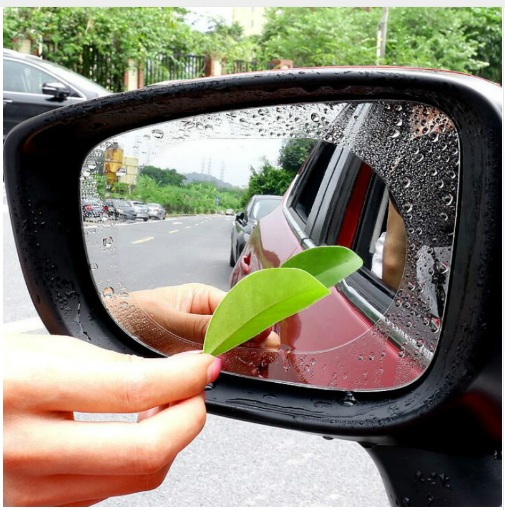 Film against water drops. Your mirror is always clean and well!