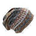 Горячие Продаем Новая Мода Старинные Цветочные Женщины Теплые Шапочки Шарф Осень Твердые Удобные Спортивные Skullies Hat Для Девочки Шапки Розничная