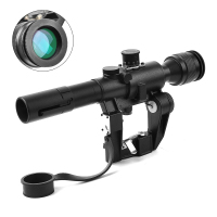 Tactical 4X26 Riflescope for SVD Sniper Rifle Series AK Rifle Scope for Hunting Rated 4.8 /5
