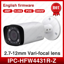 Dahua IPC-HFW4431R-Z 4MP PoE 2.8-12mm Motorized EXIR Outdoor CCTV Security IP Camera