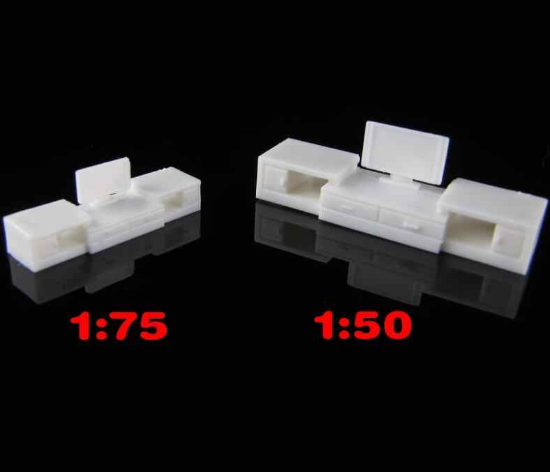 1:50-75 HO N OO Scale model DIY architectural model making materials for TV cabinet