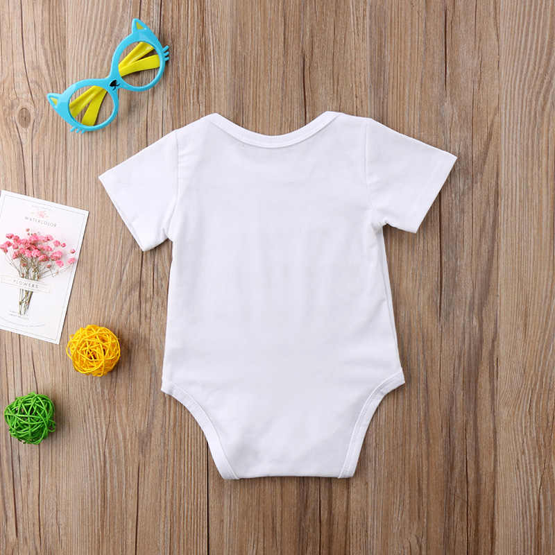 0b6c595cb ... LUCKY ROLL Newborn Infant Jumpsuit My Sibling Have Paws White Grey  Letter Print Short Sleeve Tiny ...