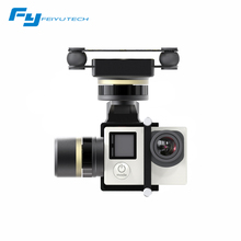 Original Feiyu MINI 3D Pro gimbal for aircrafts helicopters drones surport GoPro4/GoPro3+/GoPro3 Dji phantom Series quadcopter