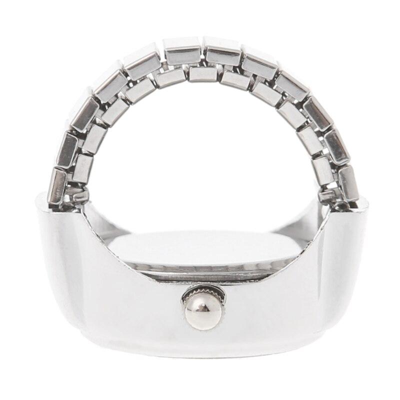 JAVRICK Women Dial Quartz Analog Finger Ring Watch Butterfly Elastic - Damklockor - Foto 5