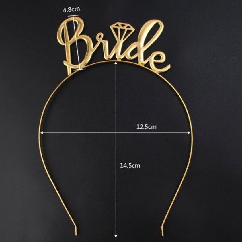 Cute Bride Bridesmaid Tiara Crown Bachelorette Hen Party Bride To Be Wedding