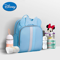Disney Mummy Bag Shoulders Multi function Fashion High capacity Baby Backpack Out Waterproof Baby Travel Backpack Diaper Bags