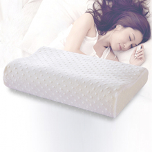 Slow rebound foam memory pillow orthopedic neck  care pillows in bedding cervical health 30*50cm/40*60cm baby/adult pain release