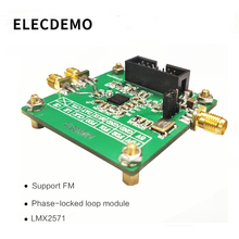 LMX2571 Module signal source RF source Phase-locked loop module FM modulation 2018 TI electronic competition module ti am3358 cpu module mcc am3358 j cpu module 1ghz ti am3358 series arm cortex a8 processors 256mb ddr3 sdram 256mb nand flash