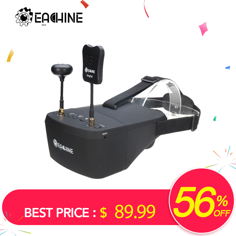 In Stock!!  Eachine EV800D 5.8G 40CH 5 Inch 800*480 Video Headset HD DVR Diversity FPV Goggles With Battery For RC Model call of duty advanced warfare army