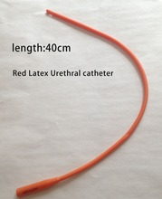 EasyThru 40cm sex Red Latex Urethral Catheters urethral sounds Insert sex toy for men penis Rights and interests of the toy