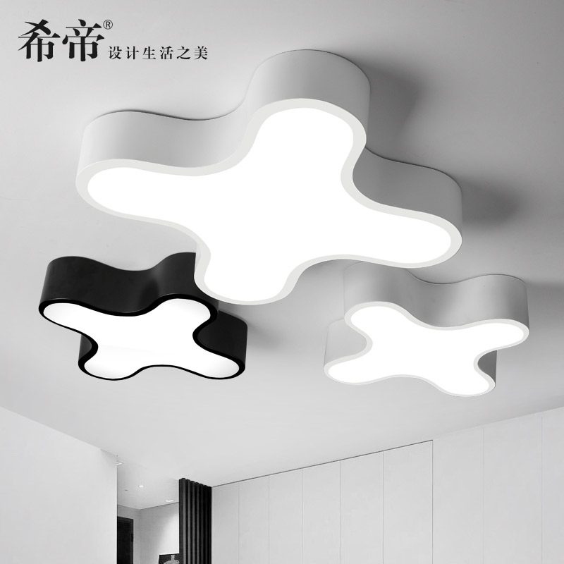 Modern Iron Ceiling Lighting Lamp Bedroom Living Room Metting room Light Novelty Ceiling Lamp Dinning lighting lamparas de tech novelty color balloon ceiling lights modern style restaurant a living room lamp bedroom bedside balcony lighting lamparas
