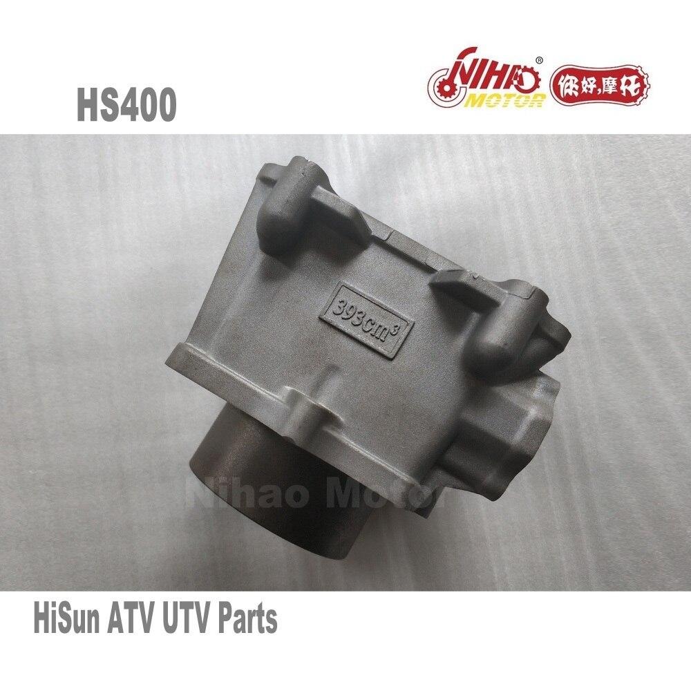 25 HISUN ATV Pièces HS 400cc Cylindre bloc HS400 HS500 HS600 HS700 HS800 Quad Moteur Forge Tactique Coleman cub cadet NIHAO Mo