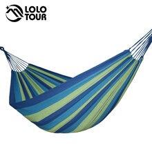 Widen rede de algodão dupla para 2 pessoas, hamac jardim swing dormir rede de dormir móveis de lona hamaca