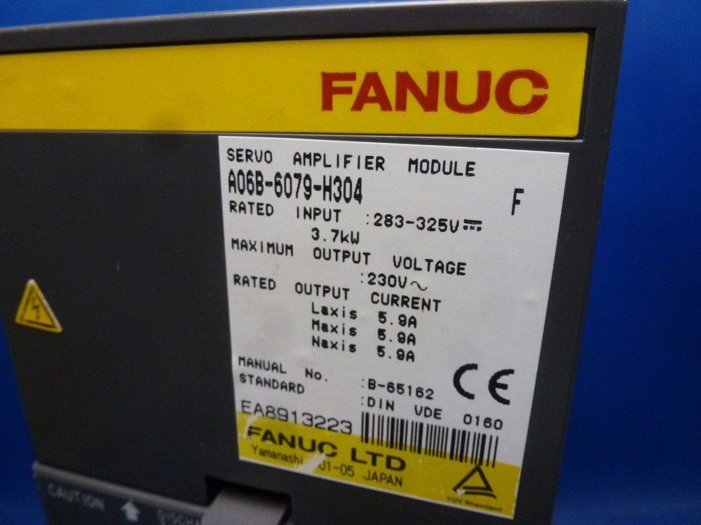 fanuc controller dirver module Fanuc A06B-6079-H304 Servo amplifier fanuc controller dirver module Fanuc A06B-6079-H304 Servo amplifier