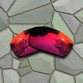 a3dd2e9ac Rojo violeta gafas de sol polarizadas lentes Oakley Square Whisker ...