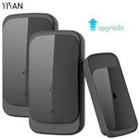 YIFAN Waterproof Wireless Doorbell Touch EU US Plug Upgrade 280M Range Smart Door Bell 58 Ring