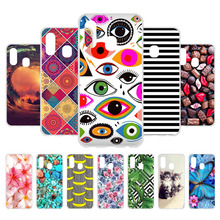 3D DIY TPU Protective Cover For Samsung Galaxy A40 Case Silicone Soft Phone Coque SM-A405FN Bumper Bags