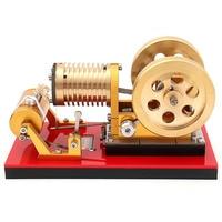 Всасывающий пожарный Тип Professional Edition Чистый медный воздушный цилиндр тепловая энергия Стирлинг Модель двигателя игрушка для элитных игрок