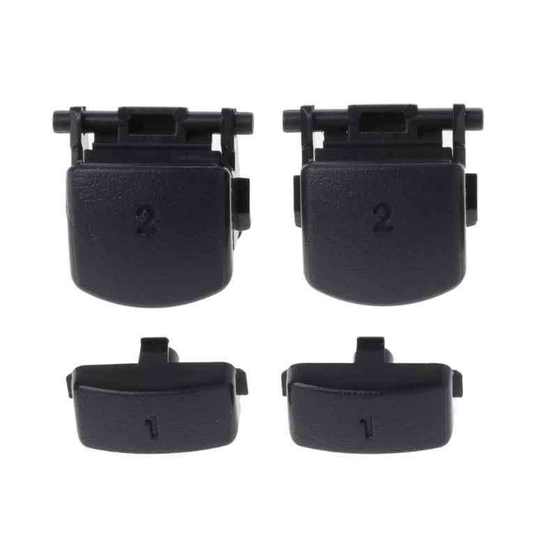 Для Dualshock 4 PS4 PRO тонкий контроллер L1 R1 L2 R2 пусковых кнопок палочки + Токопроводящая Резина Repair Part
