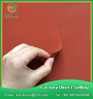 TOP Quality Silicone Foam Sheet 1mm Red Silicone Sponge Sheet Size 500x500x1mm Heat Transfer Rubber Matt