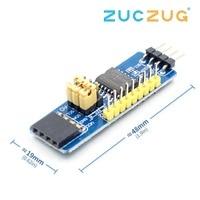 Módulo de desenvolvimento da avaliação do expansor I2C-Bus da placa de expansão i/o de pcf8574 io