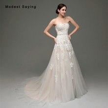Elegant Mermaid Sweetheart Beaded Pearls Lace Wedding Dresses 2017 Formal Women Long Church Bridal Gowns vestido de noiva sereia