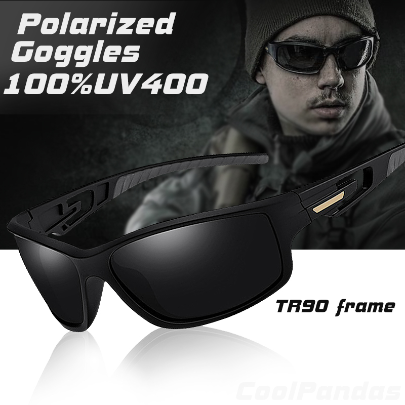 2019 Top Brand Tactical TR90 Polarized Sunglasses Men Luxury Army Goggles Sports Vintage Driving Sun Glasses Male Shadow UV400