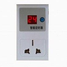 Nova 220 v de poupança de Energia Eléctrica-Plugue 24 horas digital Timer Programável Interruptor do temporizador tomada temporizador de intervalo de segurança