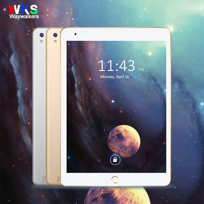 Waywalkers Tablet Android 4.4 Tablet Pc Octa Core 4GB RAM 32GB 64GB Tablette Built-in 3G Phone Call Dual SIM Card Wifi lnmbbs car tablet android 5 1 octa core 3g phone call 10 1 inch tablette 1280 800ips wifi 5 0 mp function 1 16gb multi play card