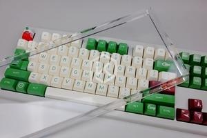 Image 2 - Acrylic Orange 80% dust cover anti dust guard cap for 80% mechanical keyboard such as 87 tkl wkl 87 xd87 ikbc ducky filco