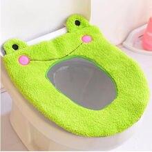 Мультяшный чехол на сиденье для унитаза для ванной комнаты, защитное покрытие для ванной комнаты
