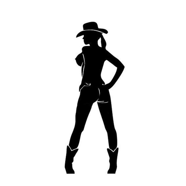 US $1 43 40% OFF|8*20CM Sexy Temptation Girl Car Stickers Cartoon Girl  Decorative Car Stickers Motorcycle Decals C2 0122-in Car Stickers from