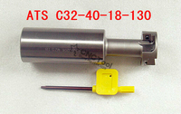 Free Shipping CNC ATS T slot end mill roughing T type cutter bar ATS C32 40 18 130 ,T slot milling cutter,suit for CcMT09t308